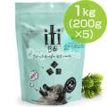 iti(イティ) エアドライドッグフード ラム&ベニソンディナー 1kg(200g×5)(お取り寄せ商品)