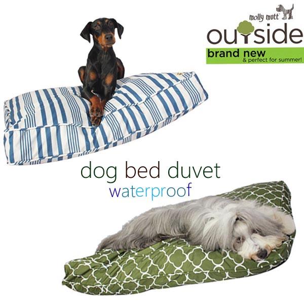 犬のベッド 【molly mutt・モリーマット】ドッグベッドカバー 防水タイプLサイズ