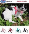 PRATIKO・プラティコ フライハーネス 超小型、小型犬用 サイズ3(シュナウザー、ジャックラッセルテリア)