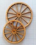 木製車輪4 (約φ89mm)(2枚セット)