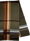 ストール ストライプ サイド 広幅 シルク 日本製 送料無料