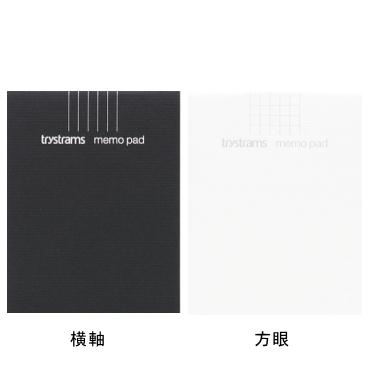 【trystrams】トライストラムス/メモパッド/KNOWLEDGE STOCK SERIES