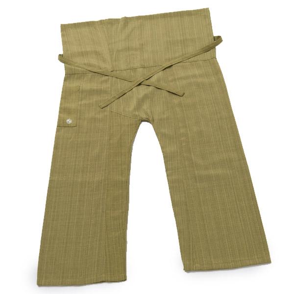 オリジナル タイパンツ Lサイズ グリーン