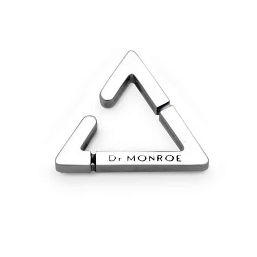 Dr MONROE(ドクターモンロー) トライアングルイヤーカフ EC-10-SV