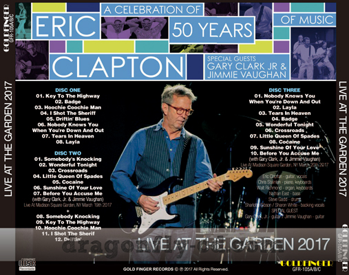 eric clapton live at the garden 2017 dragonfly