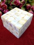 1940年代:美しい白蝶貝細工♪しっかりとした木工細工のBOX