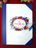 <英国ビンテージ>「The FLORAL」ヴィクトリアンなお花たちがきれいな珍しいフォトアルバム
