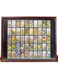 1930年代:レア♪とても貴重な「WILLS'S社」のシガレット・カードのとても大きな額「50枚のワイルドフラワー」