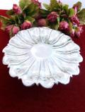 <英国銀器>1920年代:一輪のお花のような英国シルバープレートのコンポート