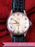 【365日保証付】<スミスの時計>1960年代:SMITHS DELUXE15石の腕時計