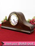 <フランスの置時計>1930年代:素晴らしい無垢のオーク材が美しい優雅で大きな置時計