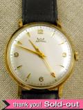 【365日保証付】<スミスの腕時計>1960年代:9金無垢の17石の腕時計「SMITHS ASTRAL」