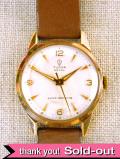 【365日保証】<TUDOR:チュードル>1960年代:9金無垢の腕時計「小薔薇」