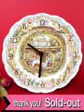 <ロイヤル・ドルトン>ブランブリーヘッジの「THE HARVEST MICE」シリーズの壁掛け時計