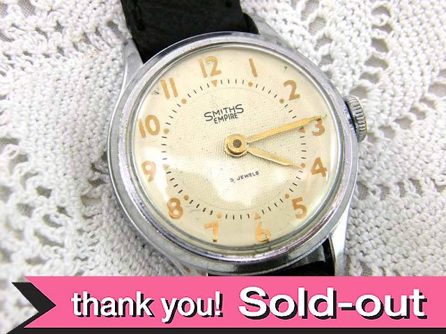 【365日保証付】<スミスの腕時計>1960年代:SMITHSの腕時計「EMPIRE」