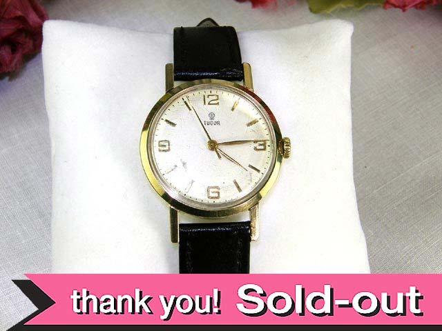 【365日保証付】 <TUDOR>1950年代:14金無垢のロレックスのイギリスブランド「チュードル」の腕時計