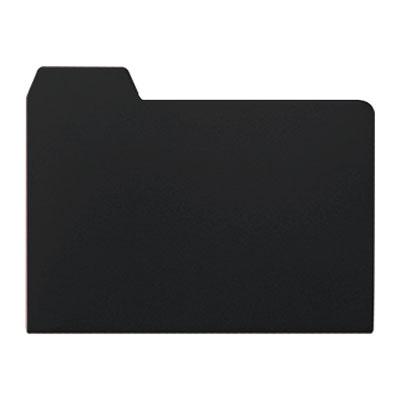 メールフォルダー ブラック