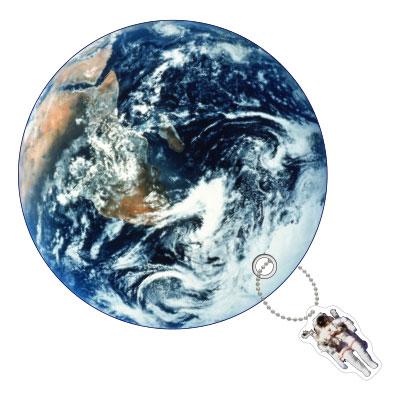 プラネットうちわ Earth