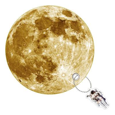 プラネットうちわ Moon