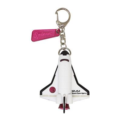 スペースロケット キーライト ピンク
