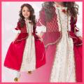 コスチューム★ハロウィン/S/M/L/XL★Traditional Princess 11282 Winter Beauty なりきりベル! 美女と野獣 ベルみたいなプリンセスドレス RED