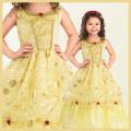コスチューム★ハロウィン/S/M/L/XL★Traditional Princess 11352 Yellow Beauty なりきりベル! 美女と野獣 ベルみたいなプリンセスドレス YELLOW