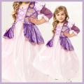 【送料無料】コスチューム★ハロウィン/S/M/L/XL★Satin Princess 10007 Satin Rapunzel なりきりラプンツェル! グリム童話のお姫様 ラプンツェルみたいなプリンセスドレス