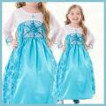 【送料無料】コスチューム★ハロウィン/S/M/L/XL★Satin Princess 11066 Satin Ice Princess なりきりエルサ! アナと雪の女王 エルサみたいなプリンセスドレス
