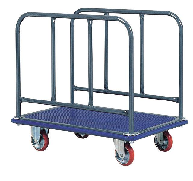 スチール長尺物運搬台車(大)NS-310 荷台寸法W910xD610