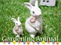 ガーデニングアニマル\130506 ウサギ