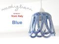 140614Modigliani モディリアーニイタリア製  陶器シェードのペンダントライト INTLAMPC17 ブルー