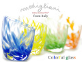 140836Modiglianiモディリアーニイタリア製カラフルグラス4色ギフトセット