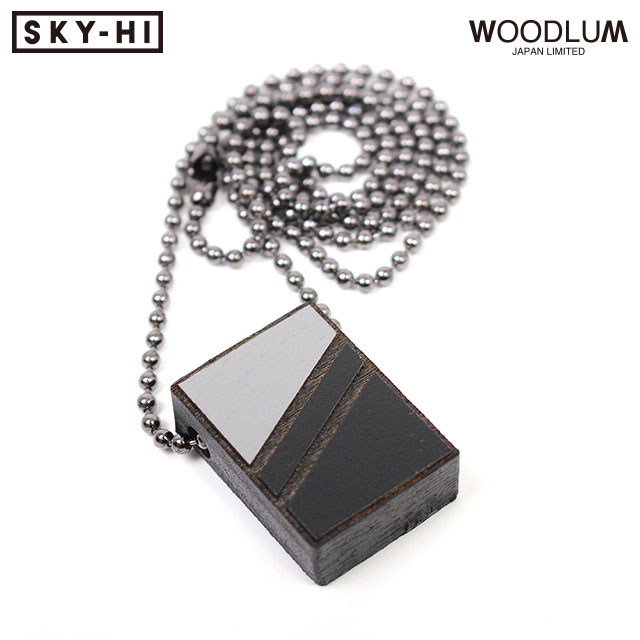 SKY-HI X WOODLUM SPECIAL COLLABORATION NECKLACE ウッドラム スカイハイ 日高光啓 AAA コラボ 木製 ネックレス