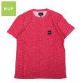HUF_HEATHER BOX LOGO POCKET S/S TEE_ハフ 半袖 ポケット Tシャツ
