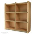 組立て簡単!軽くて丈夫な本棚・本箱「モナカ900」