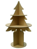 強化ダンボール製木型棚・ディスプレイ商品台「ツリー・ツリー」