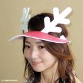 チャッピー岡本のトナカイ帽子「トナカイバイザー」