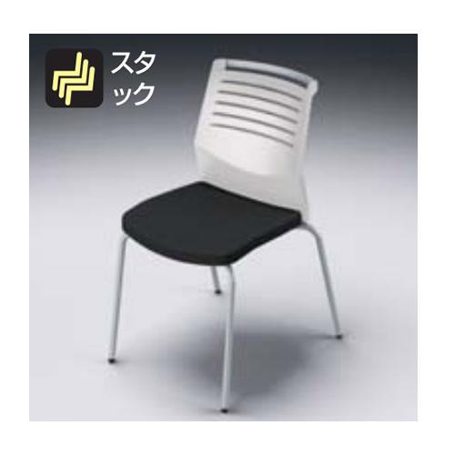 ナイキ NAIKI osedia オセディアチェア ミーティングチェアー  ビニールレザー張り 4本脚・背ヌードタイプ E290HV/E290V