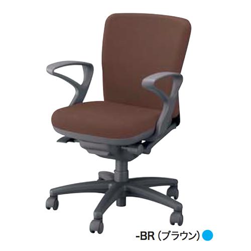 ナイキ NAIKI オフィスチェア feemo フィーモチェア 布張り ローバック リング肘付 ME511F