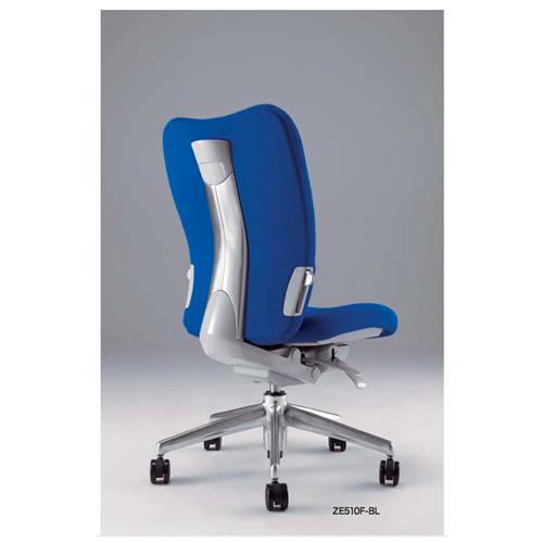 ナイキ NAIKI オフィスチェア ENEIR エネアチェア 布張り ミドルバック 肘なし ZE510F