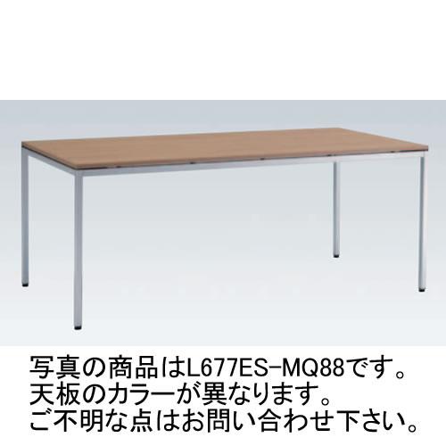 岡村製作所 オカムラ OKAMURA トレッセ ミーティングテーブル W1800×D800×H720 L677ES-MG73(ホワイト)/L677ES-MQ87(ネオウッドライト)