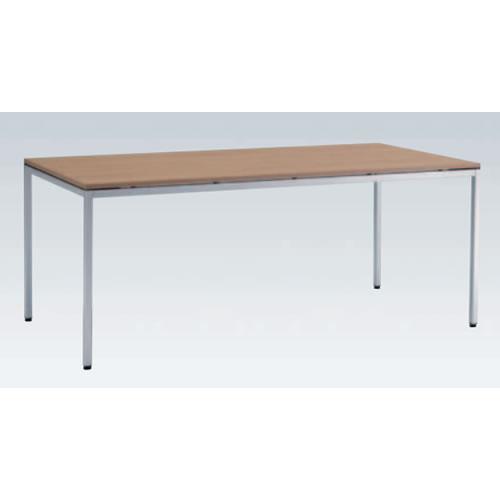 岡村製作所 オカムラ OKAMURA トレッセ ミーティングテーブル W1800×D800×H720 L677ES-MQ88(ネオウッドミディアム)/L677ES-MQ89(ネオウッドダーク)