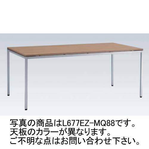 岡村製作所 オカムラ OKAMURA トレッセ ミーティングテーブル W1800×D900×H720 L677EZ-MG73(ホワイト)/L677EZ-MQ87(ネオウッドライト)