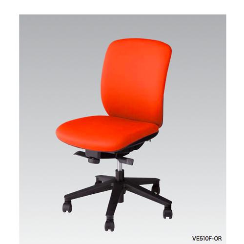 ナイキ NAIKI オフィスチェア VIALE ヴィアーレチェア ミドルバック 布張り 肘なし VE510F