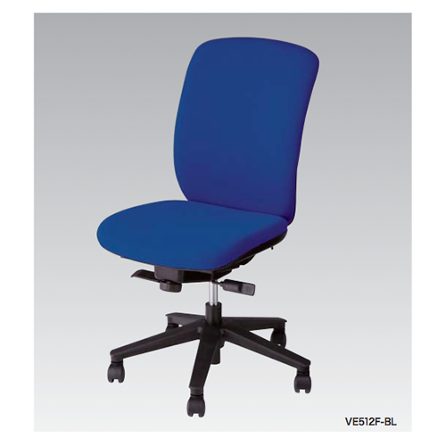 ナイキ NAIKI オフィスチェア VIALE ヴィアーレチェア ハイバック 布張り 肘なし VE512F