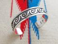 ホピ 22-0245 グリセルダ・スフキー(Griselda Saufkie)作 ウォーターシンボル オーバーレイ・ブレスレット