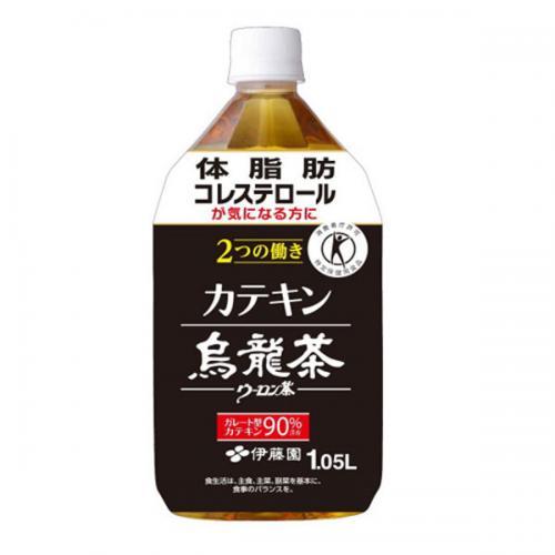 PET カテキン烏龍茶 1.05L 12本入り×1ケース(伊藤園)【クレジット決済のみ】
