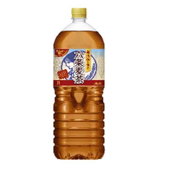 アサヒ 六条麦茶 PET2L  6本入り×1ケース 【クレジット決済のみ】(KT)