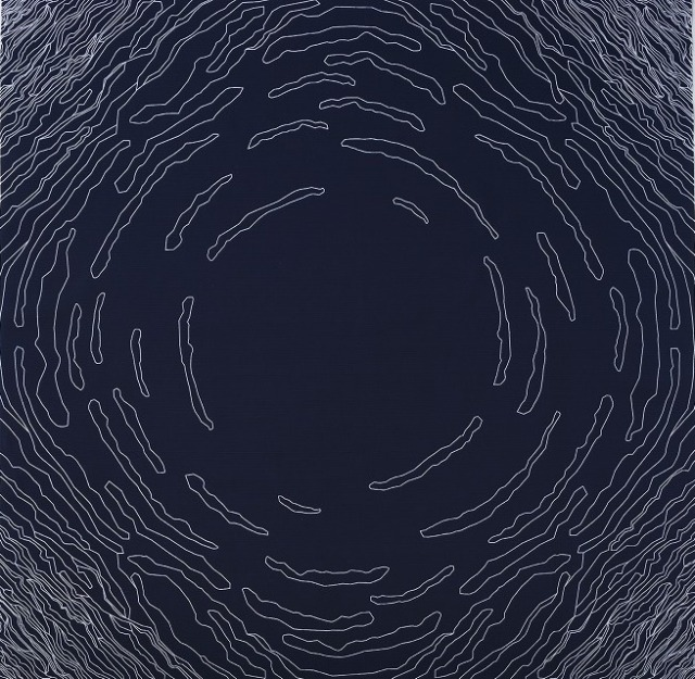 コトノワ×アンキデザイナーズ 綿風呂敷/CLOUDS(クラウズ)/約100cm/インディゴブルー/