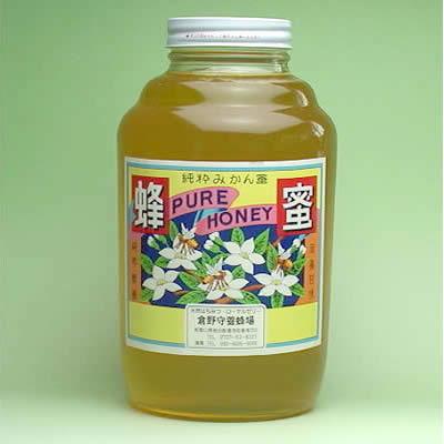 純粋みかん蜂蜜